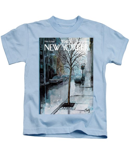New Yorker March 12th, 1966 Kids T-Shirt