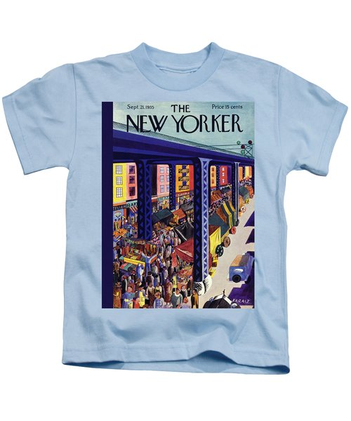 New Yorker September 21 1935 Kids T-Shirt