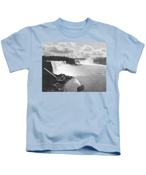 Niagara Falls Maid Of The Mist Kids T-Shirt