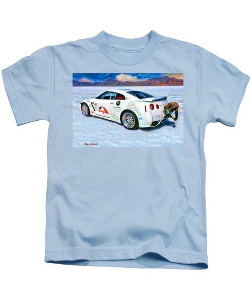 Nissan Salt Flats Kids T-Shirt