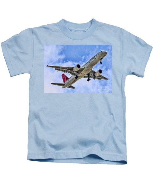 Northwest Coming In By Diana Sainz Kids T-Shirt