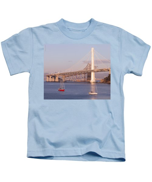 Oakland Bridge Kids T-Shirt