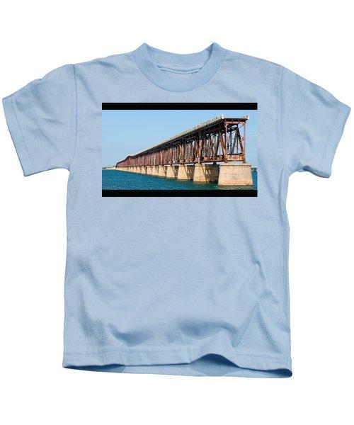 Old Bahia Honda Bridge 2 Kids T-Shirt