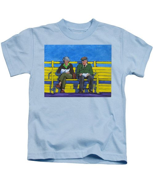 Old Couple Kids T-Shirt