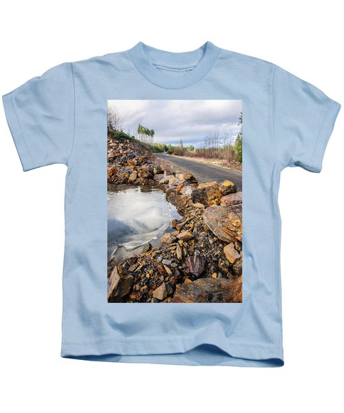 On Frozen Pond Collection 6 Kids T-Shirt