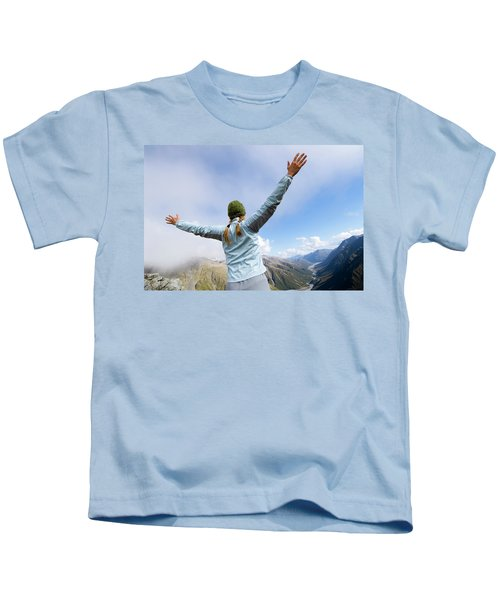 On The Fourth Day Of The Three Passes Kids T-Shirt