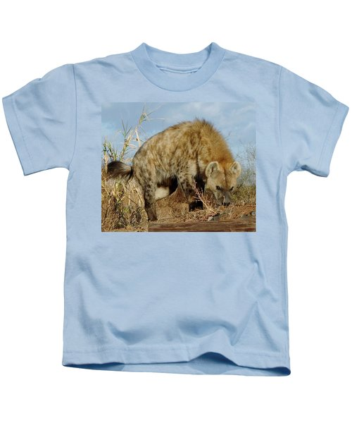 Out Of Africa Hyena 1 Kids T-Shirt