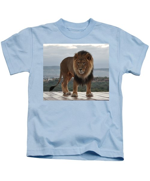 Out Of Africa Lion 3 Kids T-Shirt