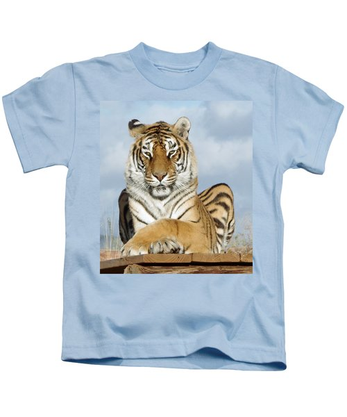 Out Of Africa Tiger 3 Kids T-Shirt