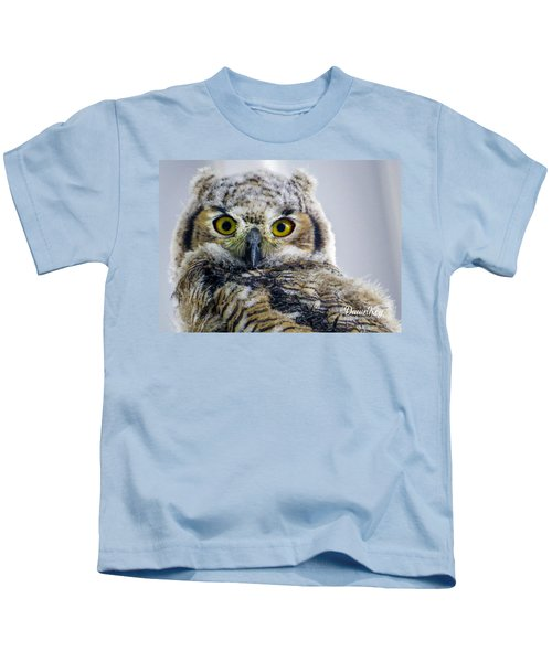 Owlet Close-up Kids T-Shirt