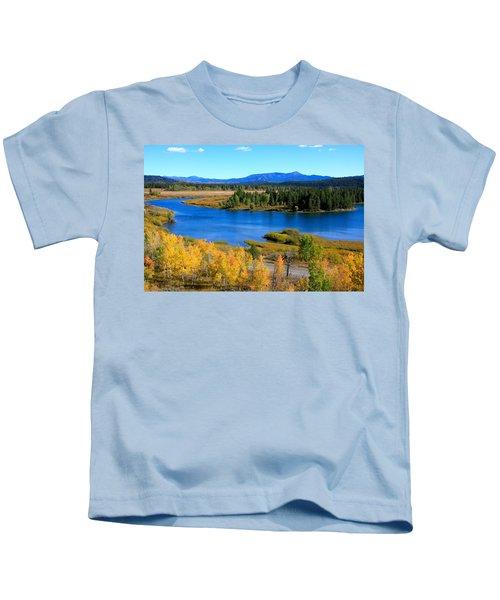 Oxbow Bend, Grand Teton National Park Kids T-Shirt