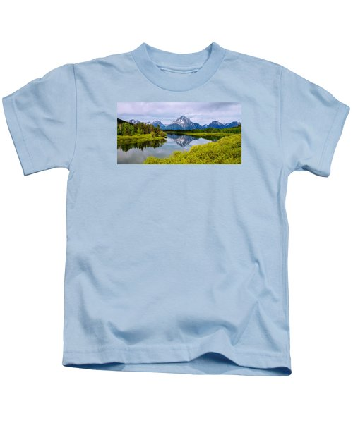 Oxbow Summer Kids T-Shirt by Chad Dutson