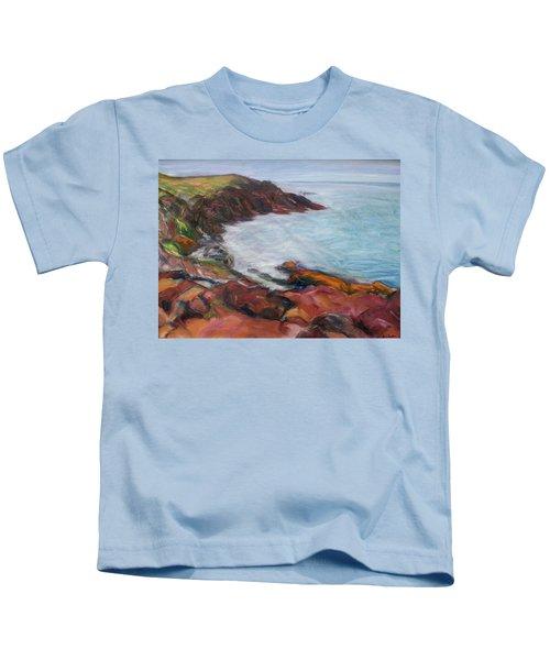 Painterly - Bold Seascape Kids T-Shirt
