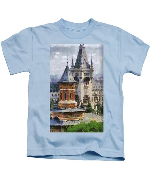 Palace Of Culture Kids T-Shirt