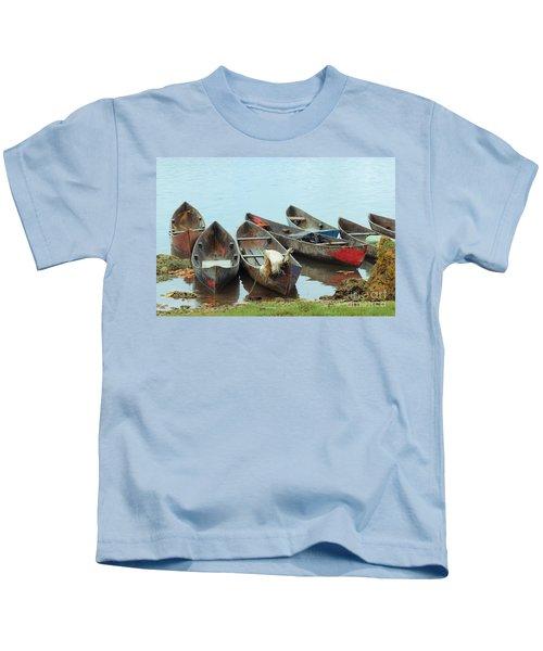 Parking Boats Kids T-Shirt