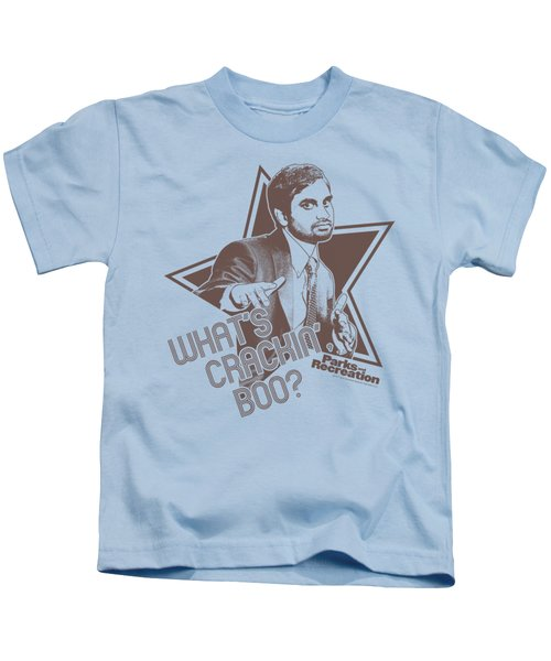 Parksandrec - What's Crackin Boo Kids T-Shirt