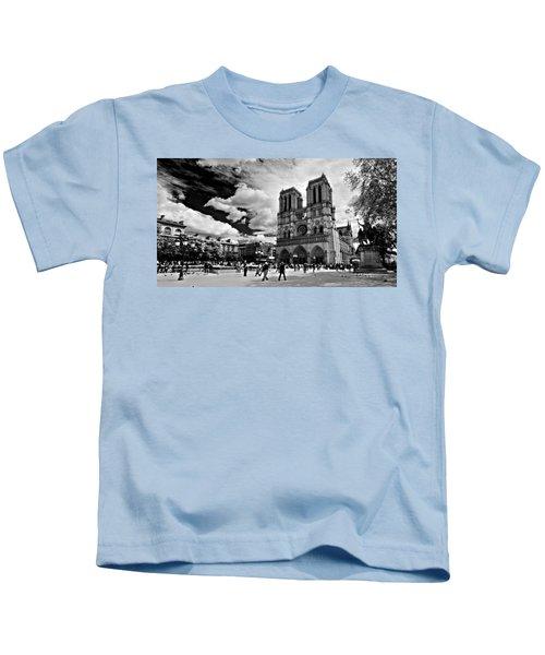 Parvis Notre Dame / Paris Kids T-Shirt