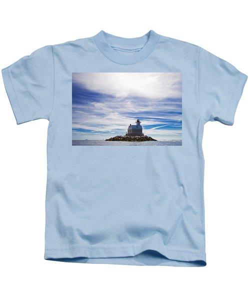 Penfield Reef Lighthouse Fairfield Connecticut Kids T-Shirt