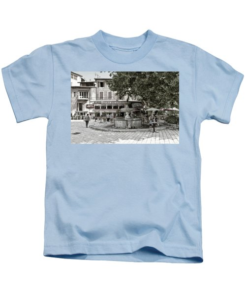 People On The Square Kids T-Shirt