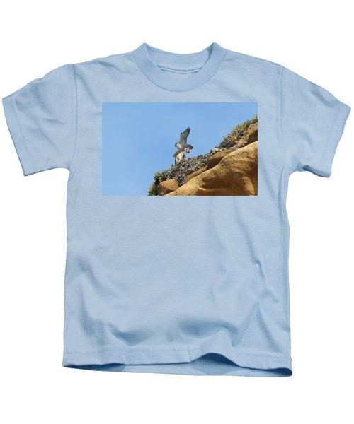 Peregrine Falcons - 3 Kids T-Shirt