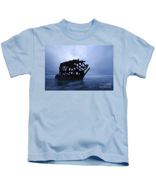 Peter Iredale Shipwreck Oregon 3 Kids T-Shirt
