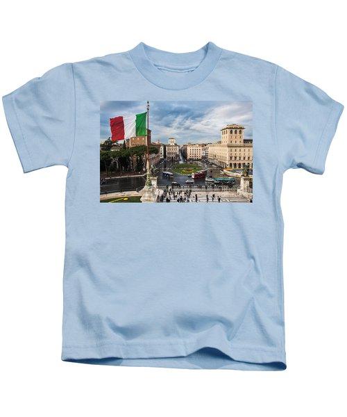 Piazza Venezia Kids T-Shirt