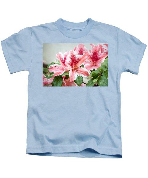 Pink Azaleas Kids T-Shirt