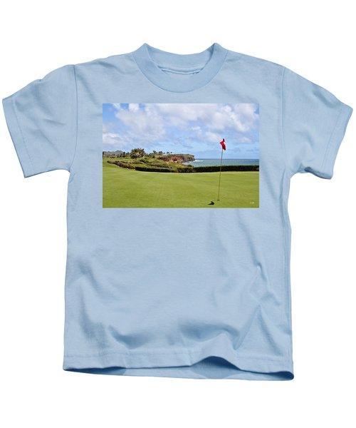 Poipu Bay #16 Kids T-Shirt