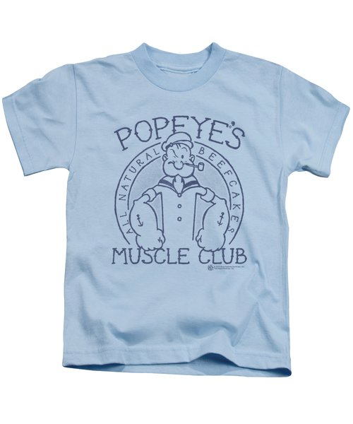 Popeye - Muscle Club Kids T-Shirt