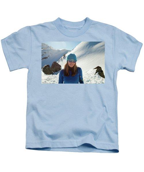Portrait Of A Fit, Active Woman Wearing Kids T-Shirt