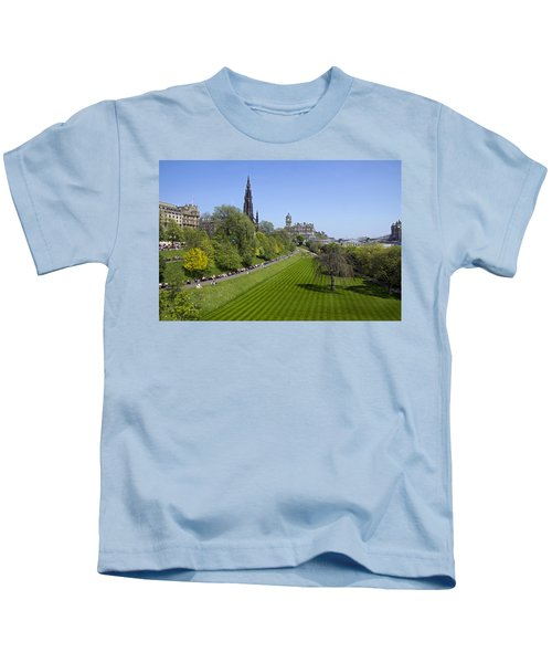 Princes Street Gardens Kids T-Shirt