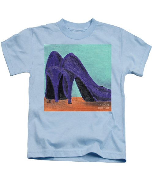 Purple Shoes Kids T-Shirt