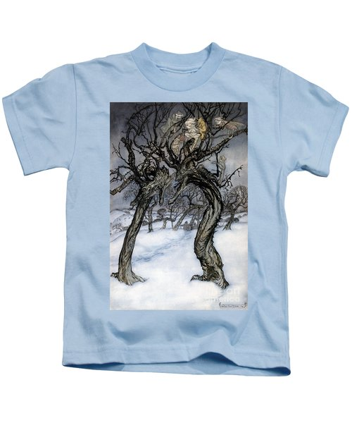 Rackham: Whisper Trees Kids T-Shirt