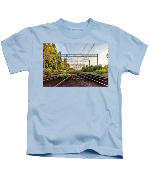 Railway To Nowhere Kids T-Shirt