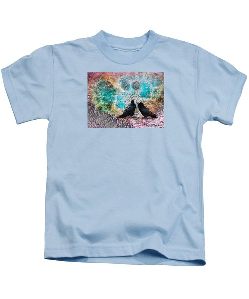 Crow Whispers In The Nowhere Kids T-Shirt