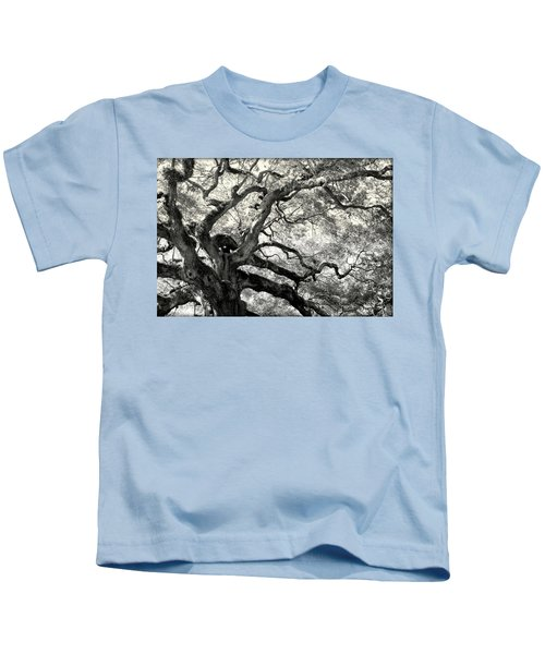 Reaching For Heaven Kids T-Shirt