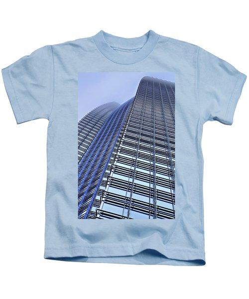 Reaching To The Heavens Kids T-Shirt
