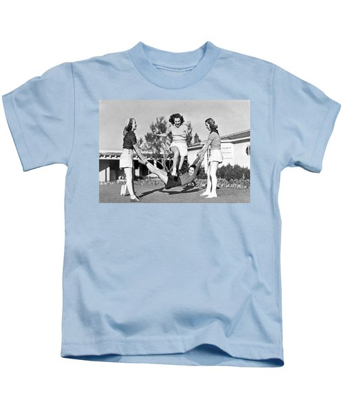 Real College Swingers Kids T-Shirt