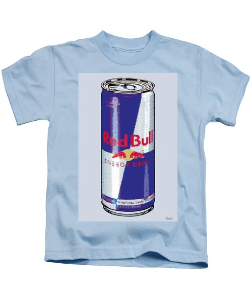 Red Bull Ode To Andy Warhol Kids T-Shirt