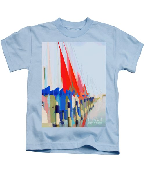 Red Sails In The Sunset Kids T-Shirt
