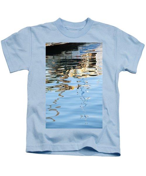 Reflections - White Kids T-Shirt
