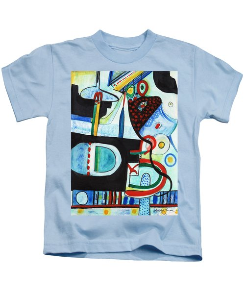 Reflective #7 Kids T-Shirt