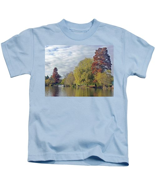 River Avon In Autumn Kids T-Shirt