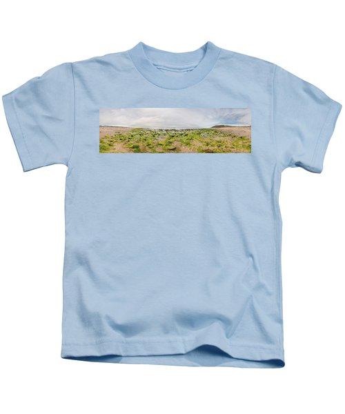 River Delta And Wetlands At Low Tide Kids T-Shirt