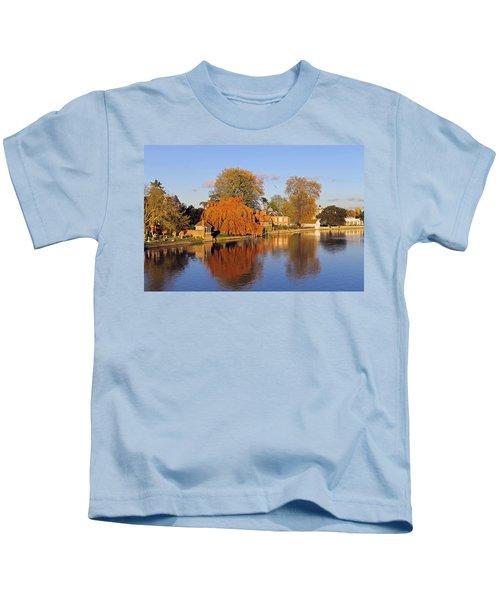 River Thames At Marlow Kids T-Shirt