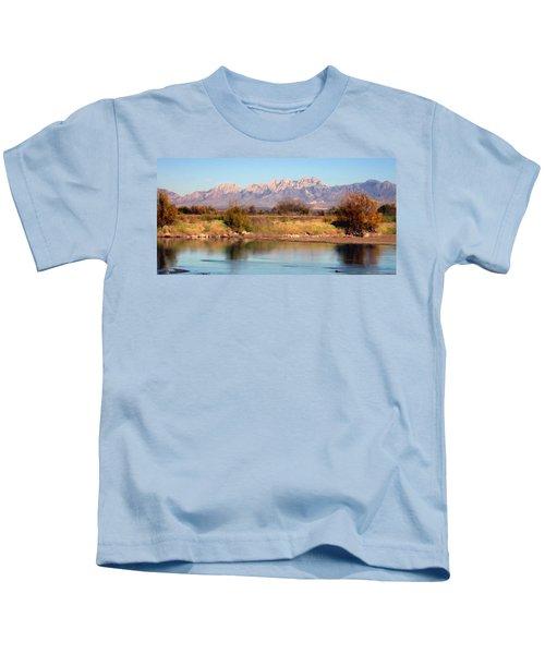 River View Mesilla Panorama Kids T-Shirt