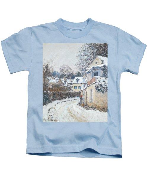 Road Louveciennes Kids T-Shirt