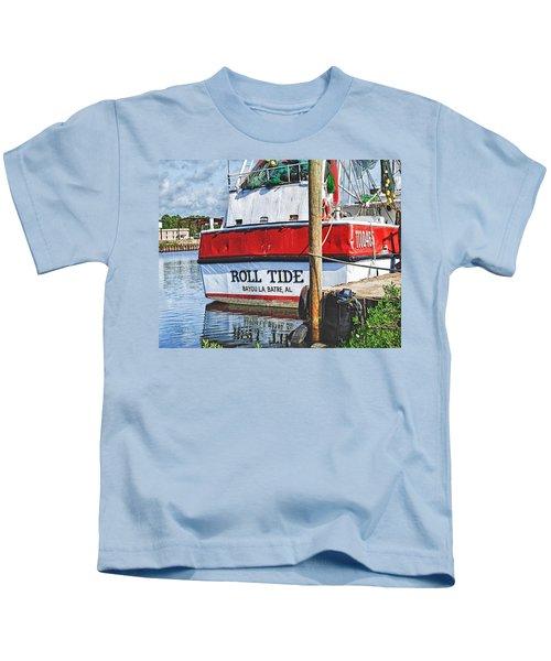 Roll Tide Stern Kids T-Shirt