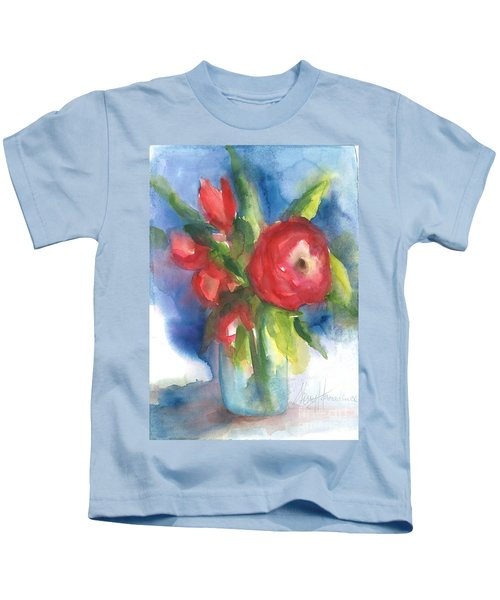 Rose Blooming Kids T-Shirt
