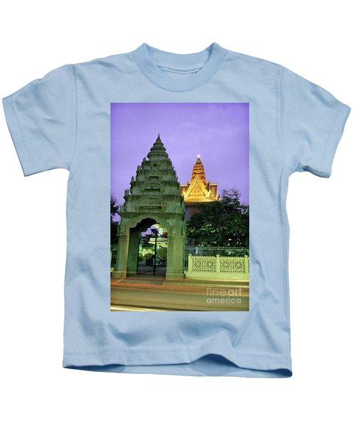 Royal Palace Phnom Penh Cambodia Kids T-Shirt